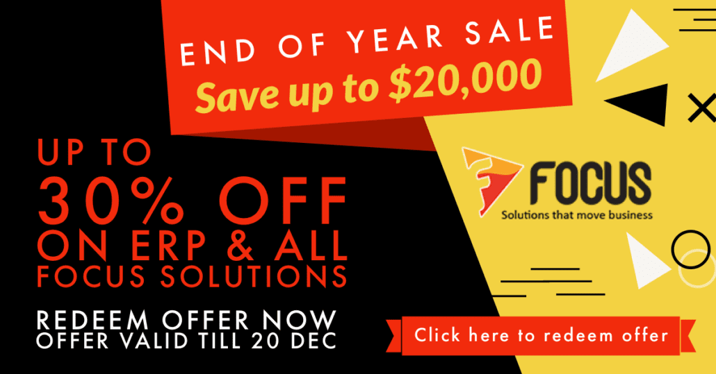 Year End Sale Limited Time Offer on ERP 22nd Nov - 20th Dec 1